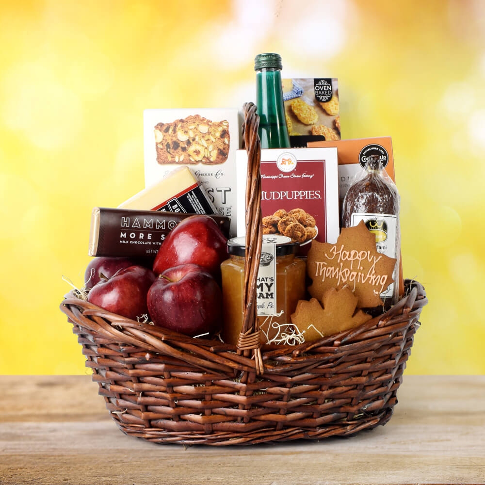 Bountiful Thanksgiving Basket, Thanksgiving gift baskets, Thanksgiving gift sets, Canada delivery, USA delivery