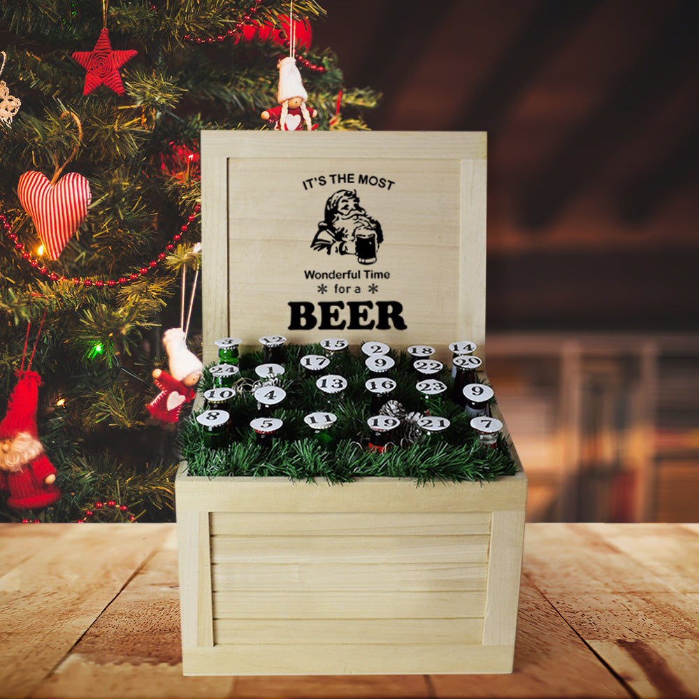 Holiday Beer Crate, beer gift baskets, Christmas gift baskets, gourmet gift baskets