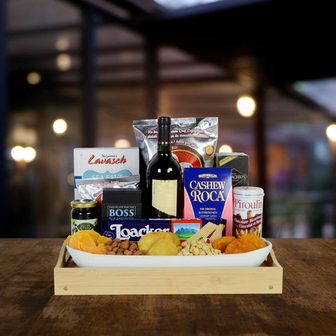 The Kosher Ample Wine Gift Basket