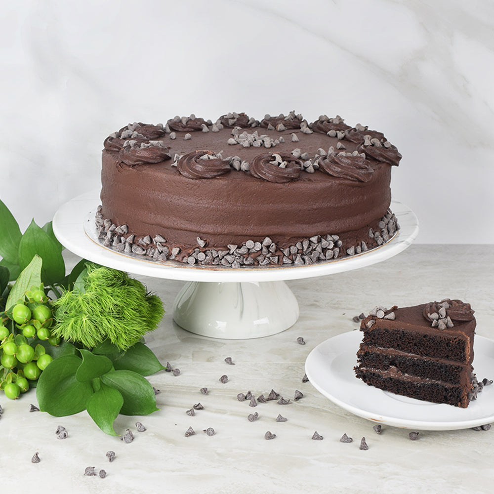 Large Vegan Chocolate Cake