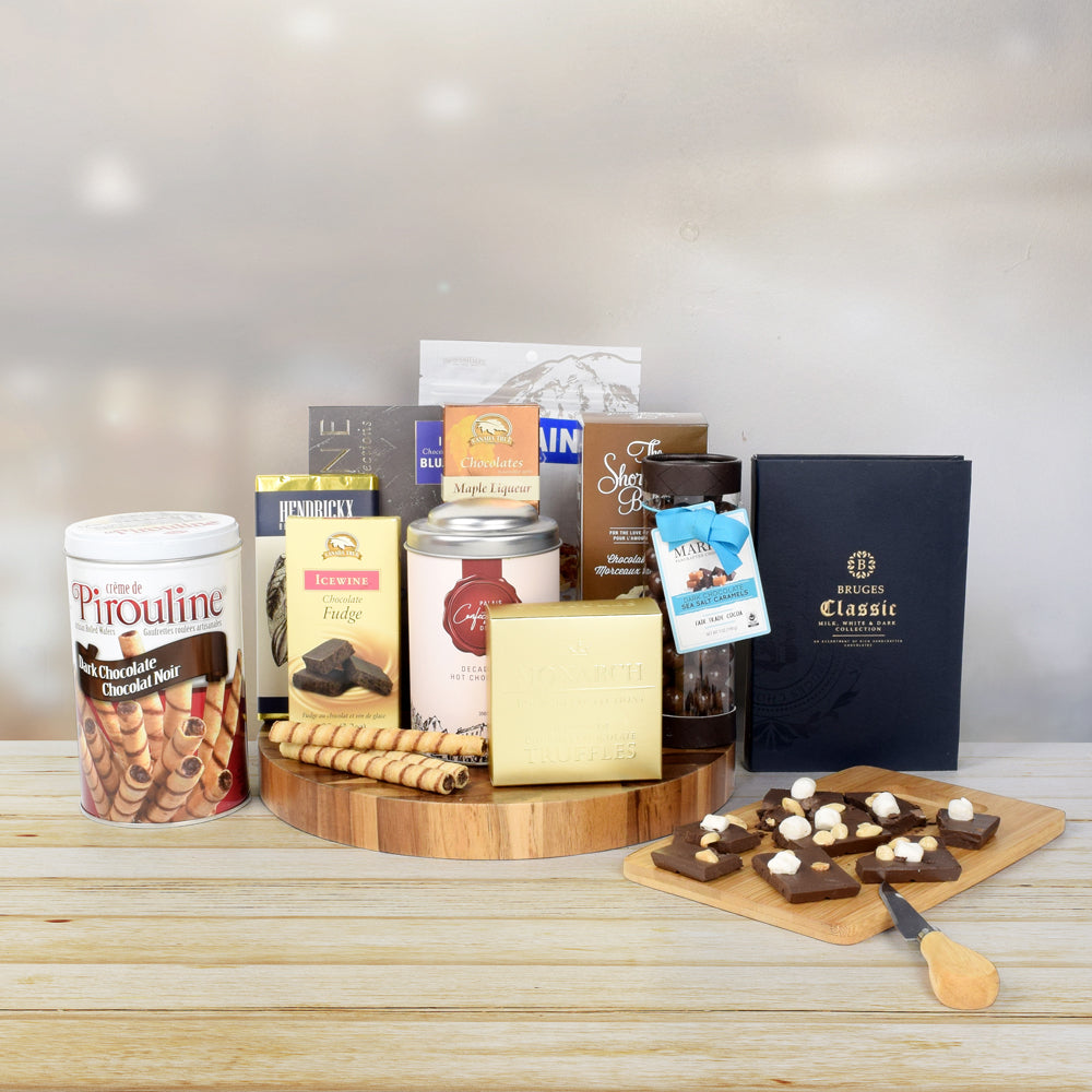 """Chocolate for Everyone"" Chocolate Gift Basket"