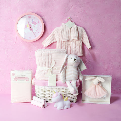 BABY GIRL BEDROOM SET