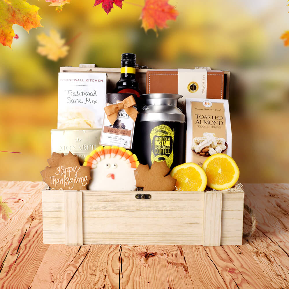 Thanksgiving Gift Crate, Fall Gifts, Autumn Gifts, Gifts for Thanksgiving