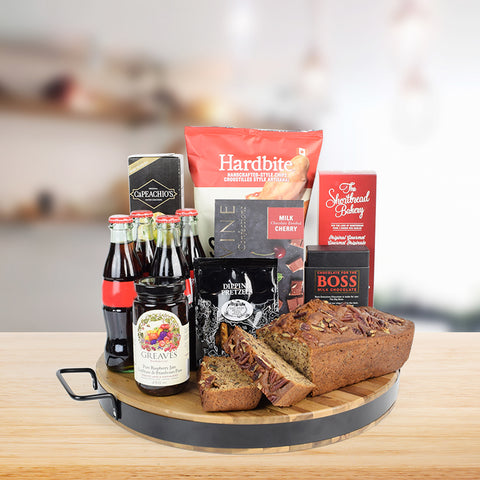 Coke & Gourmet Snacks Gift Set