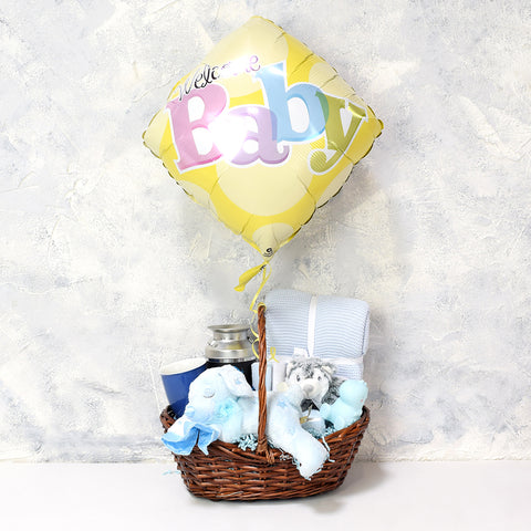 Sweet Dreams Baby Boy Gift Basket