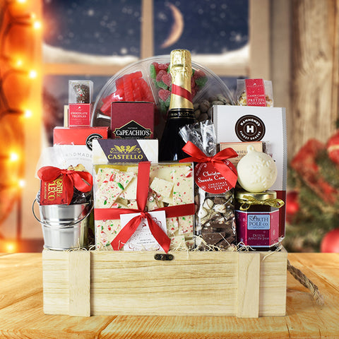 Christmas Snacking Gift Basket