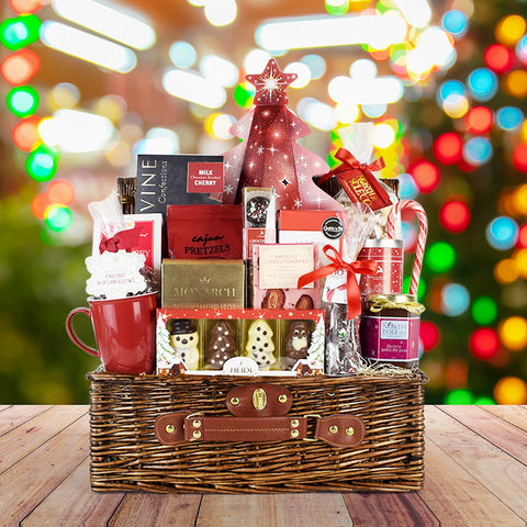 Christmas Picnic Basket