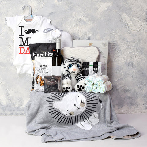Deluxe Sleep and Bath Time for Baby Gift Basket