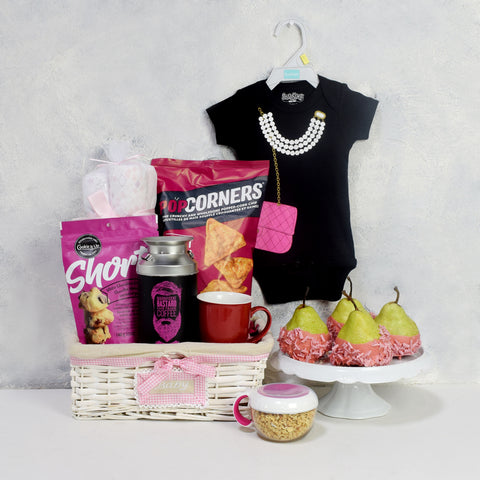 XL COMFORT FOR THE XS BABY GIFT BASKET, baby girl gift basket,, welcome home baby gifts, new parent gifts
