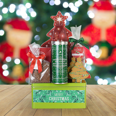 Sweet Holiday Wishes Gift Basket