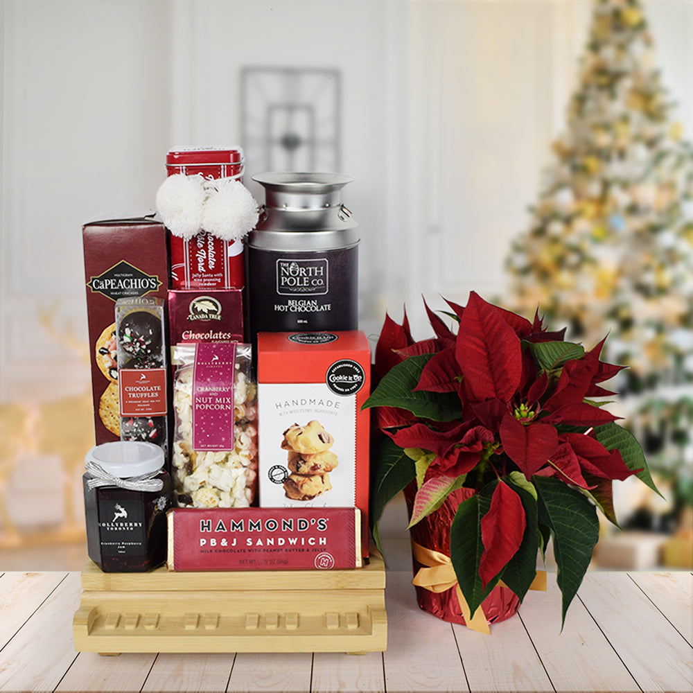 Yuletide Snacking Gift Basket