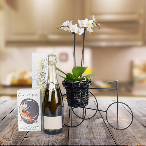 Tropical Paradise Champagne Gift Basket