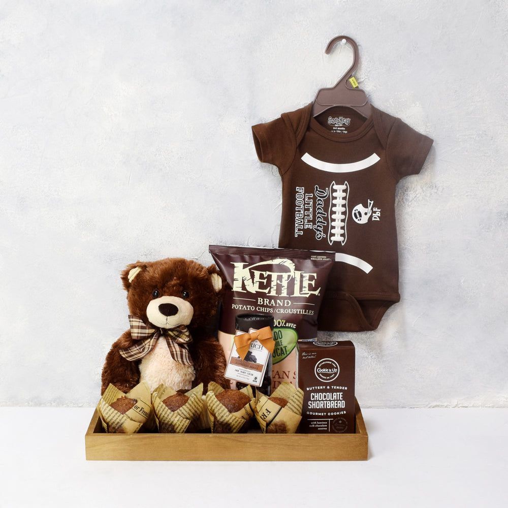 UNISEX GIFT BASKET FOR THE BABY, gift basket, Canada Delivery