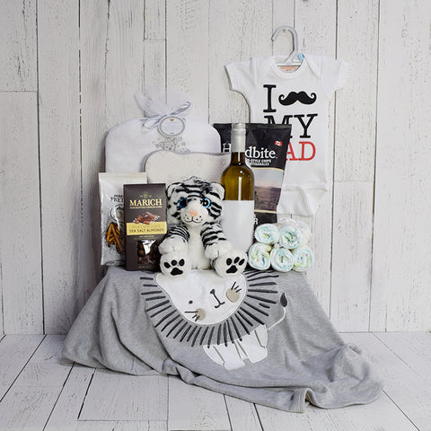 Sleep and Bath Time for Baby Gift Basket