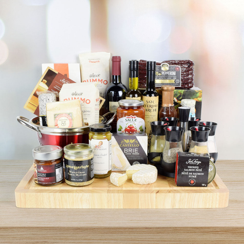 Chef Gift Set, wine gift baskets, gourmet gifts, gifts