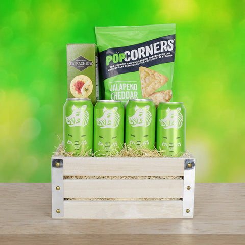 St. Patrick's Day Beer & Snacks Crate