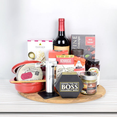 Baked Brie Lovers Gift Set, wine gift baskets, gourmet gifts, gifts