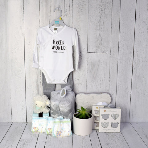 UNISEX BABY COMFORT SET, unisex baby gift hamper, newborns, new parents