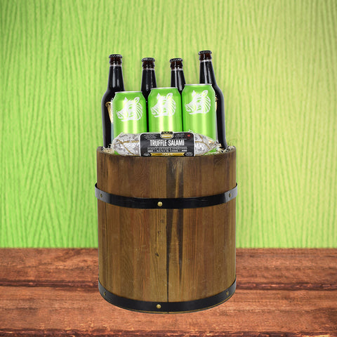 St. Patty's Beer Barrel