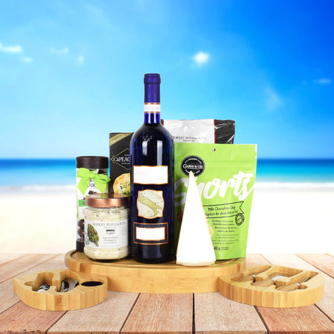 Kosher Wine & Cheese Gift Set