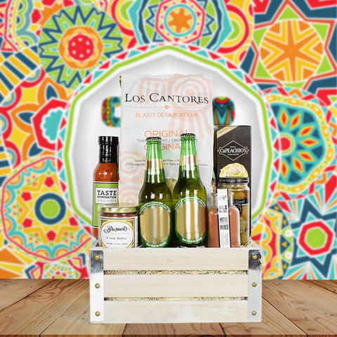 Cinco De Mayo Beer Gift Crate