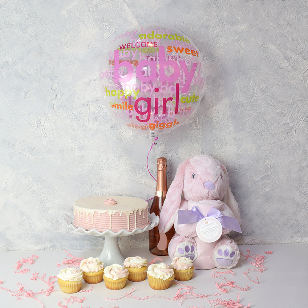 Daddy's Little Girl Baby Gift Basket