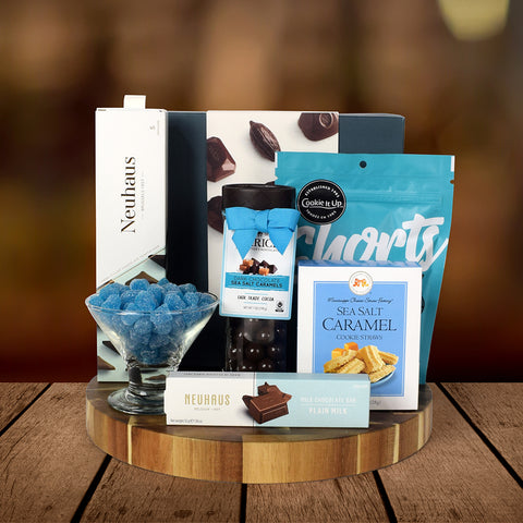 CHOCOLATES FOR THE CELEBRATIONS GIFT BASKET