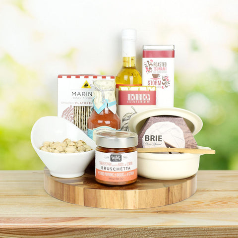 Brie Cheese Baker Gourmet Gift Set