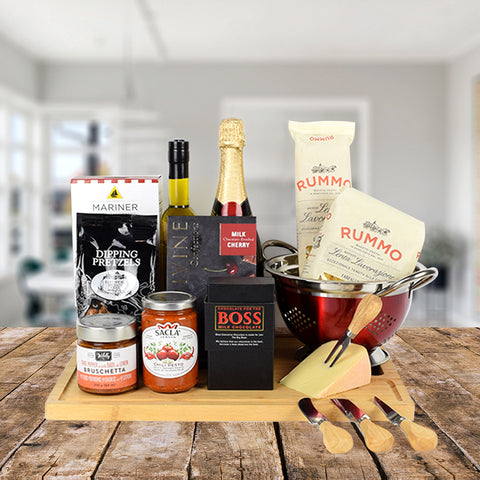 Italian Flavours Gift Set With Champagne