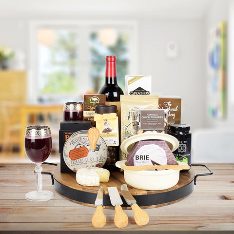 Baking Brie Duo Gift Set with Wine