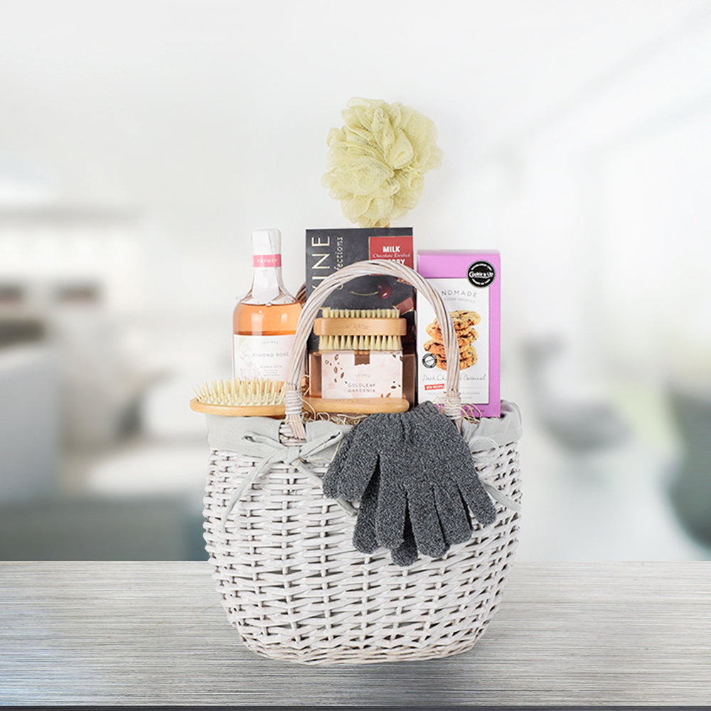 Rosy Decadence Spa Gift Basket