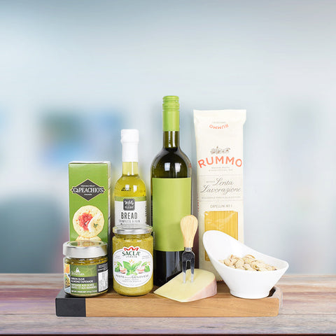 Saucy Pasta & Wine Gift Set