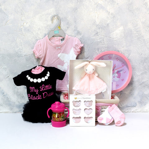 NEW ARRIVAL BABY GIRL GIFT SET, baby girl gift hamper, newborns, new parents