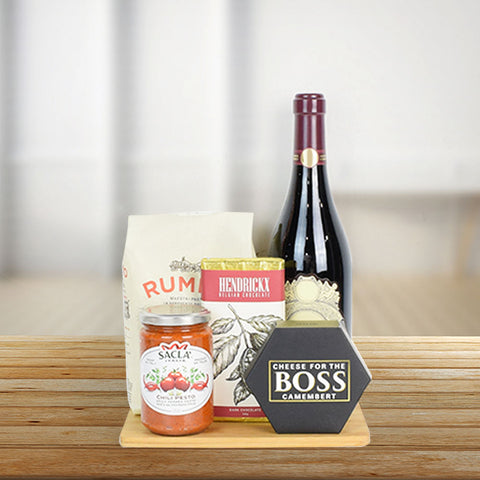 Charming Wine & Cheese Gift Set, wine gift baskets, gourmet gift baskets, gift baskets, gourmet gifts