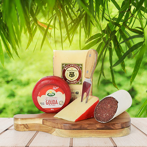 Say Cheese Gourmet Gift Set