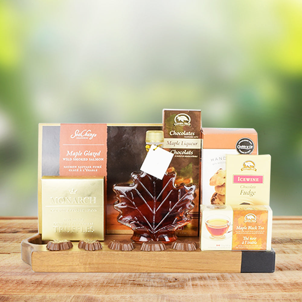 Maple & Chocolates Gourmet Gift Set, gourmet gift baskets, gift baskets, gourmet gifts