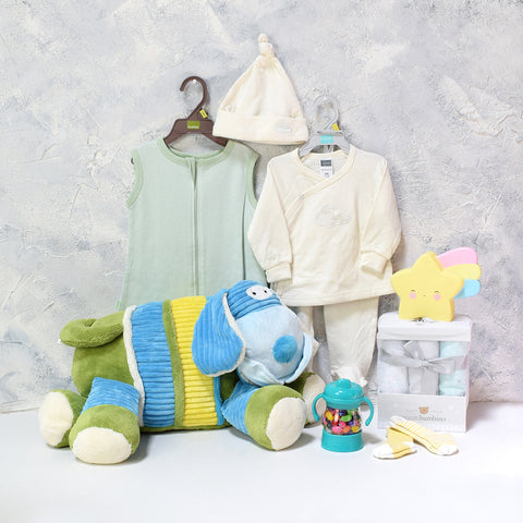 Unisex Baby Comfort Set, baby gift baskets, baby boy, baby gift, new parent, baby