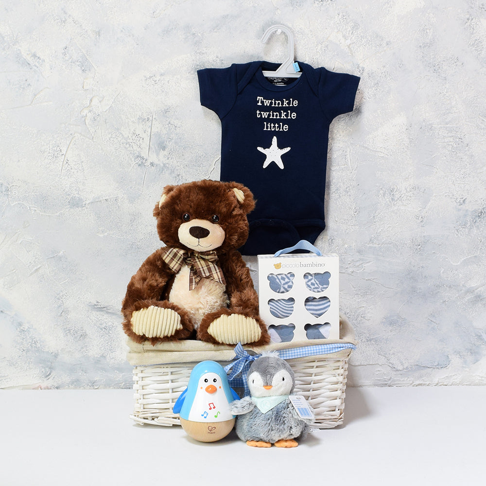 Baby Boy Basket, Baby Gift Baskets, Baby Toys, Baby Clothes
