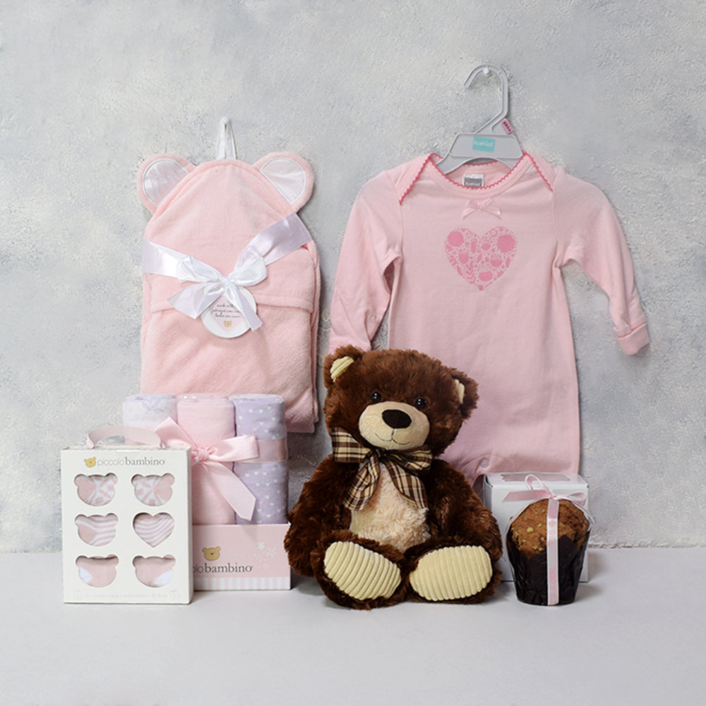 LITTLE GIFTS FOR THE WEE GIRL GIFT SET, baby boy gift hamper, newborns, new parents