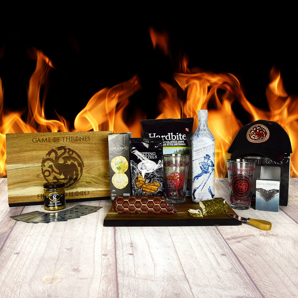 """Fire and Blood"" Game Of Thrones Snack Set"