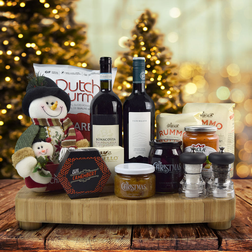 Frosty's Wine and Dine Gourmet Holiday Board