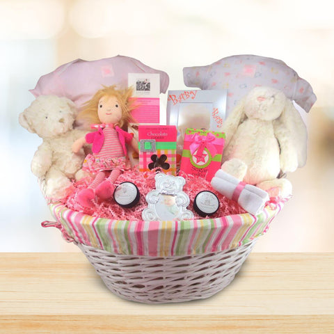 Celebrating Baby Gift Basket