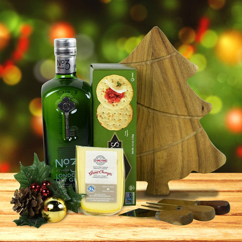 Gin, Cheese & Crackers Gift Set