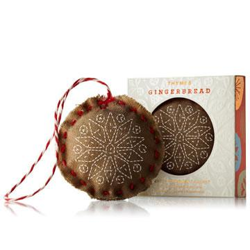 Thymes Gingerbread  -  ORNAMENT SACHET