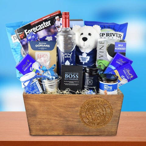 Hockey Mom's Gift Basket