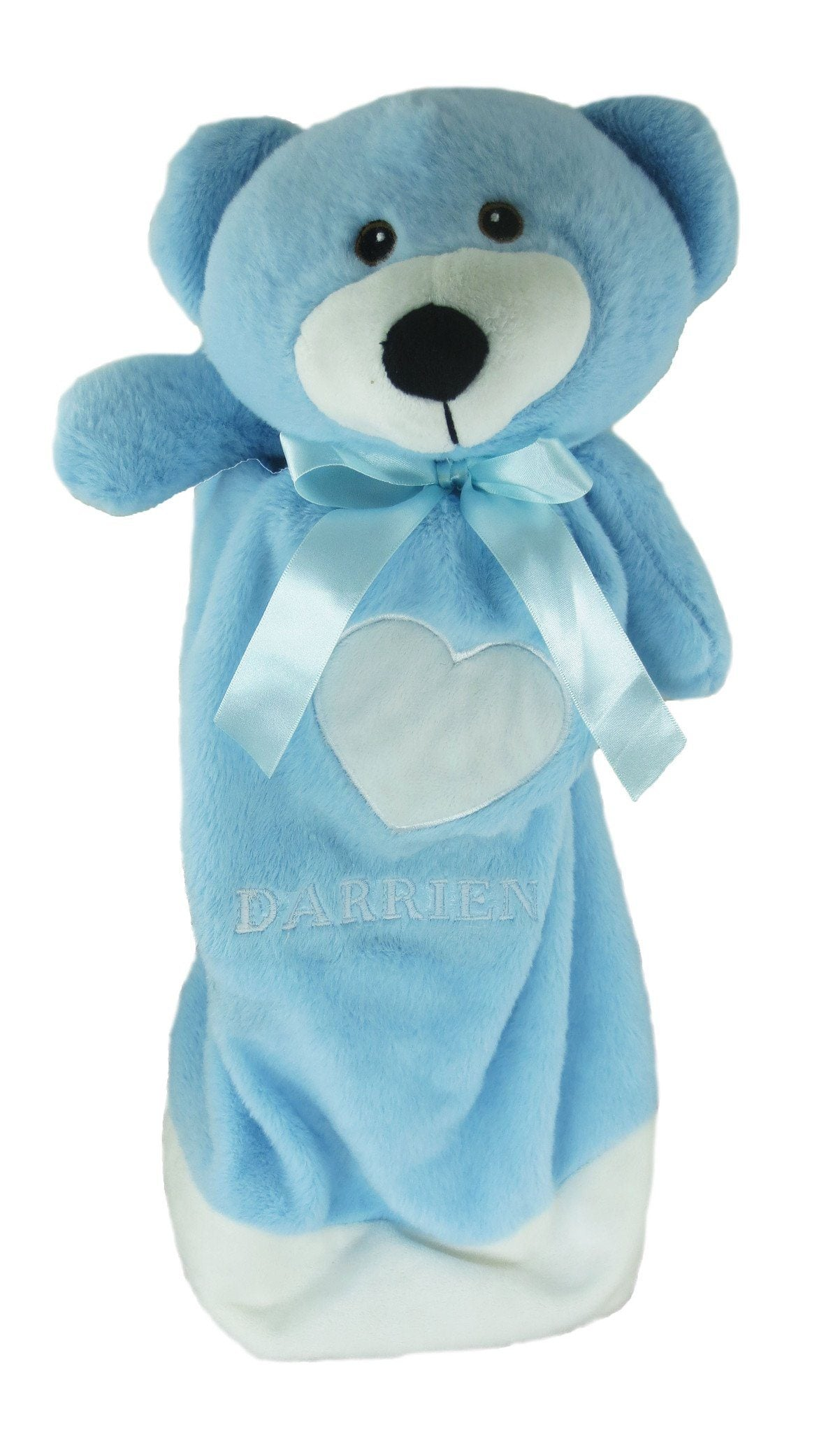 Embroidered Blue Bear - Large