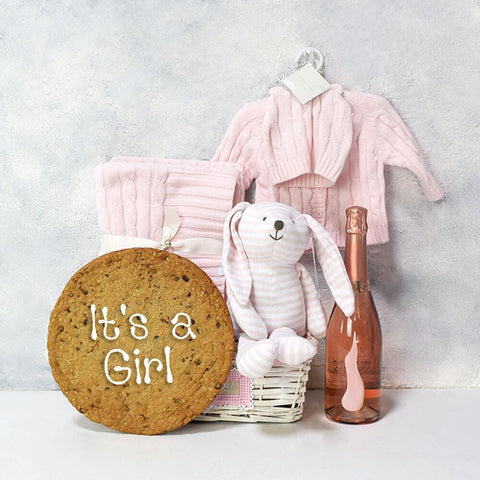 I WANT THEM ALL MUM GIFT BASKET, baby girl gift hamper, newborns, new parents