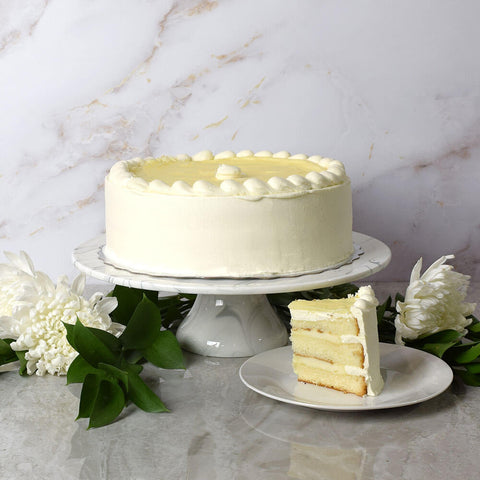 Large Bavarian Cream Cake