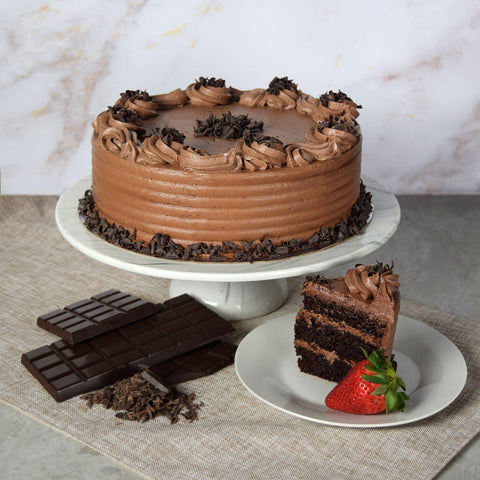 Large Chocolate Cake