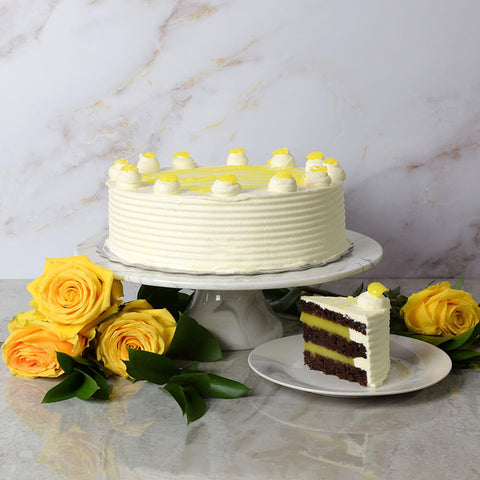 Large Lemon Cake